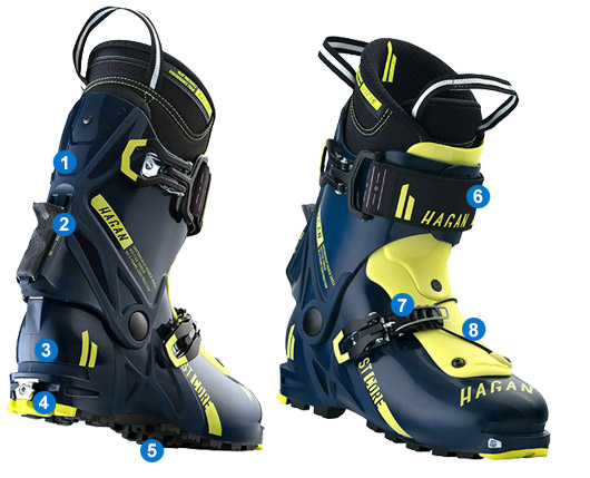 77543d2241 skialpinistické topánky Hagan ST CORE
